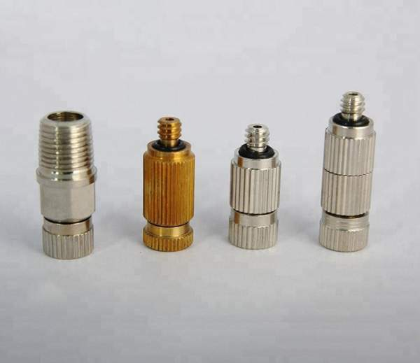 anti-drip fd brass misting nozzle